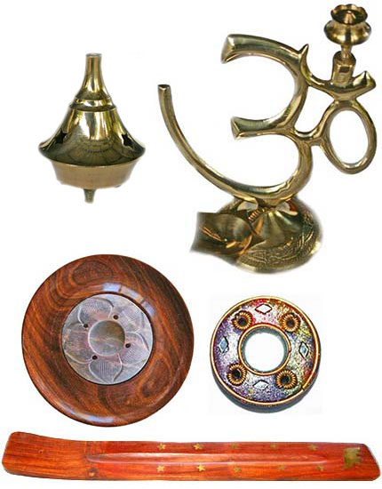 Incense holders - various styles and prices