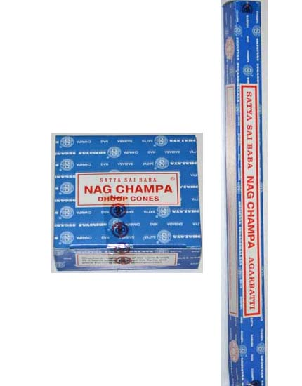 Incense - Satya Sai Baba Nag Champa sticks or cones