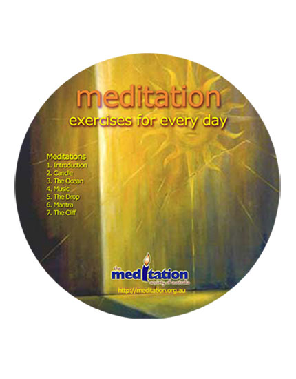 CD - Guided Meditation Exercises Part 1