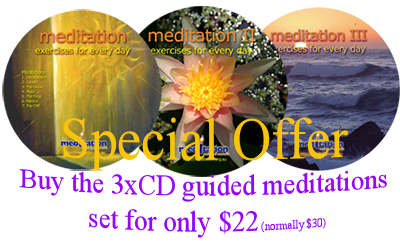 CDs - Guided Meditations Parts 1-3