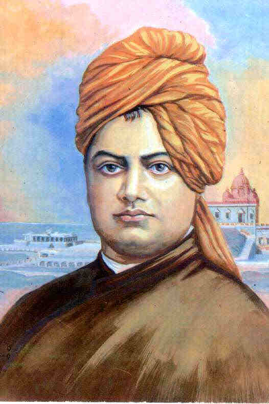 Perhaps the most celebrated of India's great saints was Swami Vivekananda.