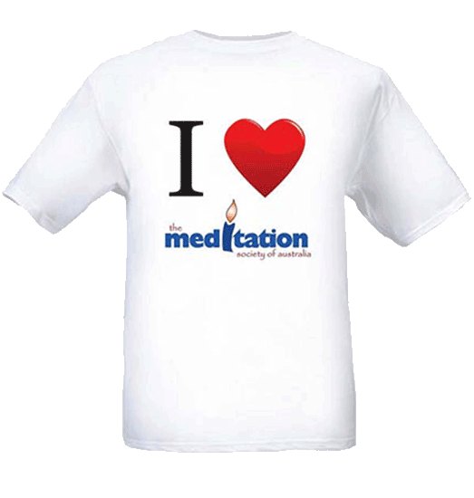 Tshirt 100% cotton - i love meditation