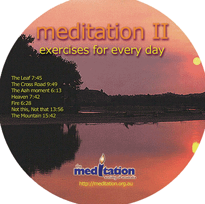 CD - Guided Meditation Exercises Part 2