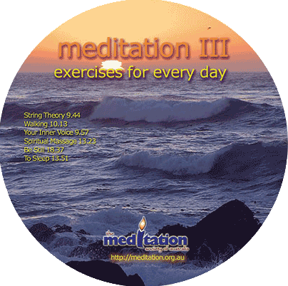 CD - Guided Meditation Exercises Part 3